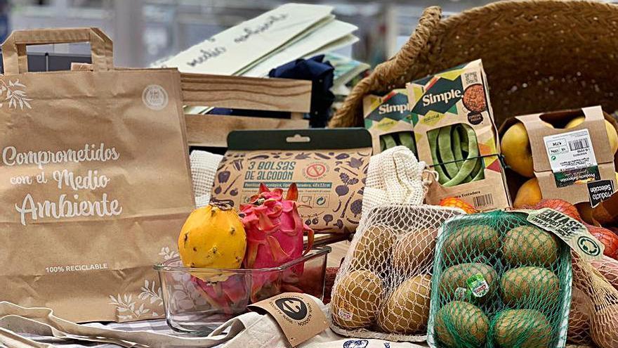 Carrefour elimina el 50% del plástico en sus frutas y verduras