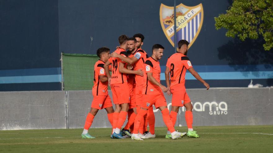 El Málaga CF suma su segunda victoria en pretemporada (2-0)