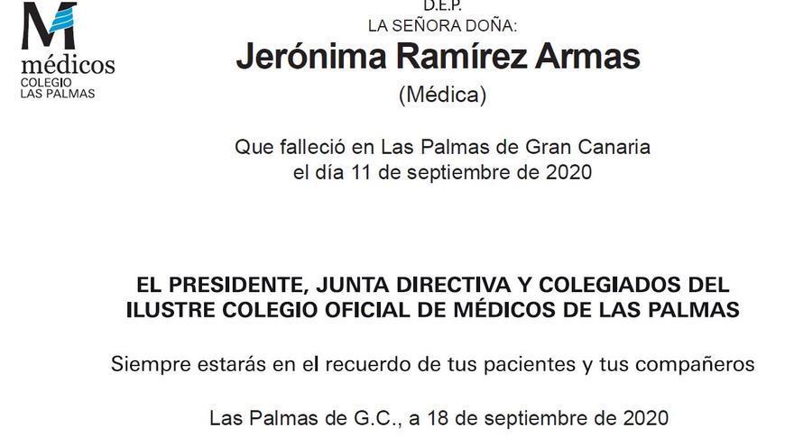 Jerónima Ramírez Armas