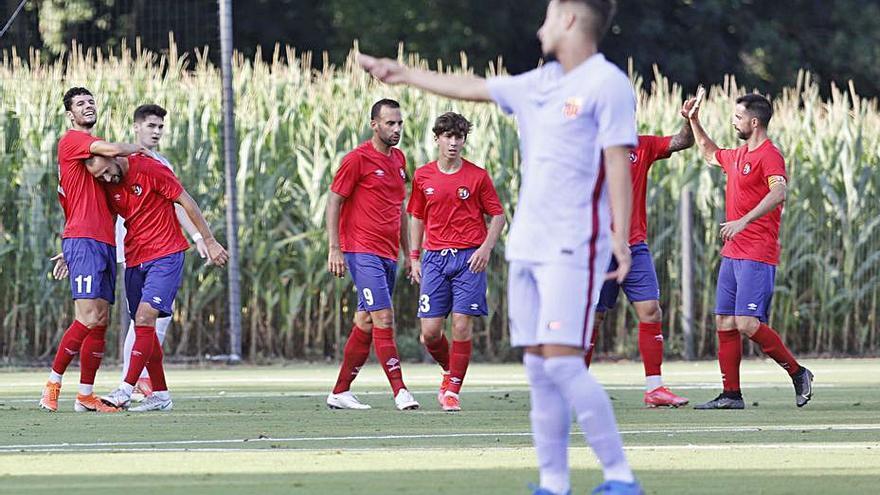 L'Olot comença la pretemporada amb una derrota contra el Barça B