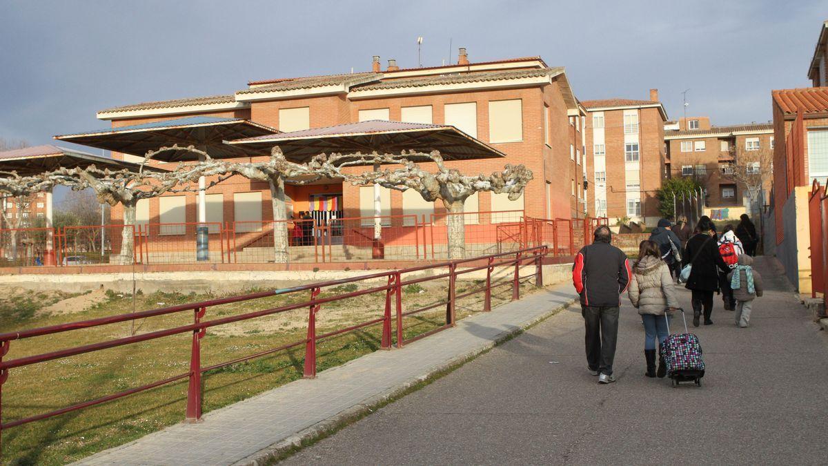 Colegio La Candelaria, en Zamora capital.