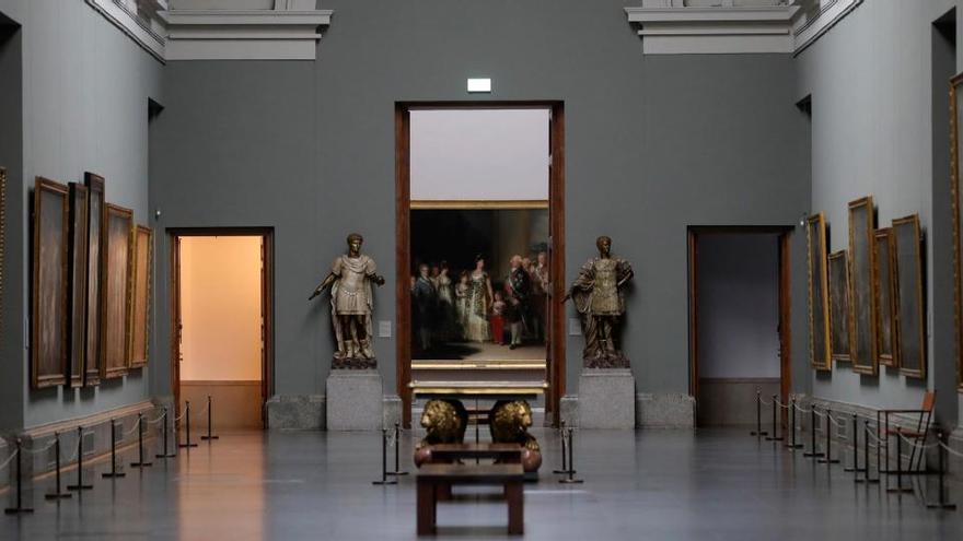 Los principales museos reducen a un tercio sus visitantes en verano