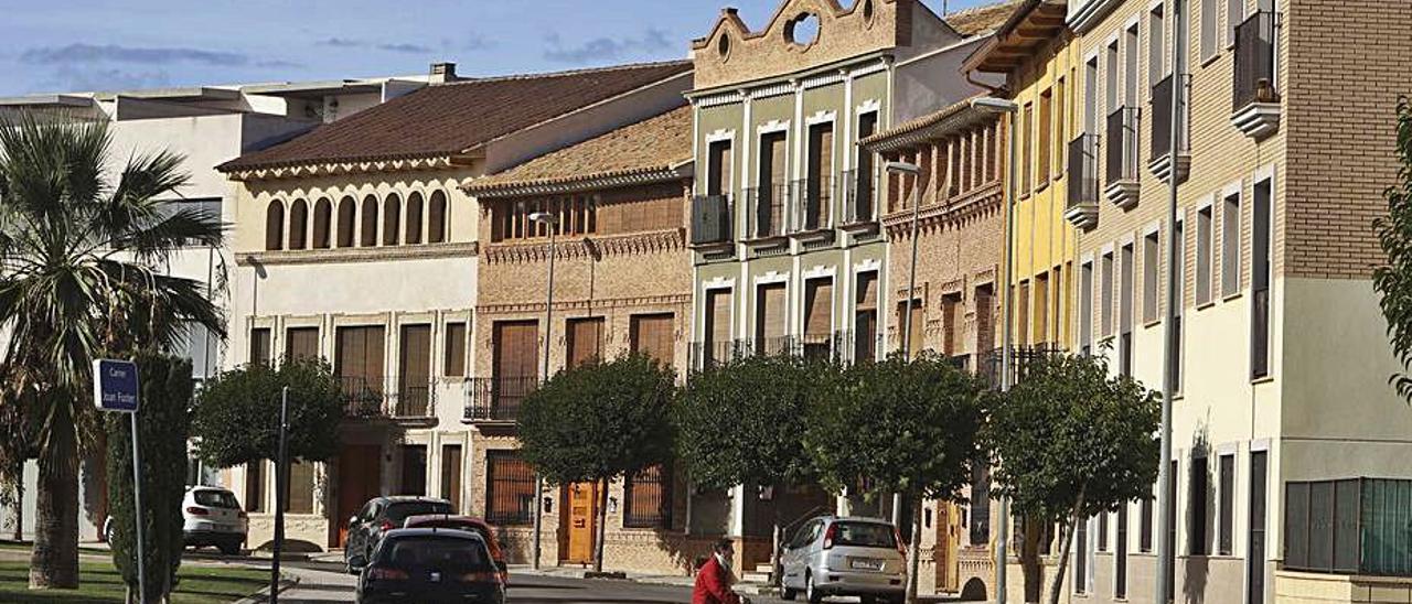 Vista de una calle de Canet.  | TORTAJADA