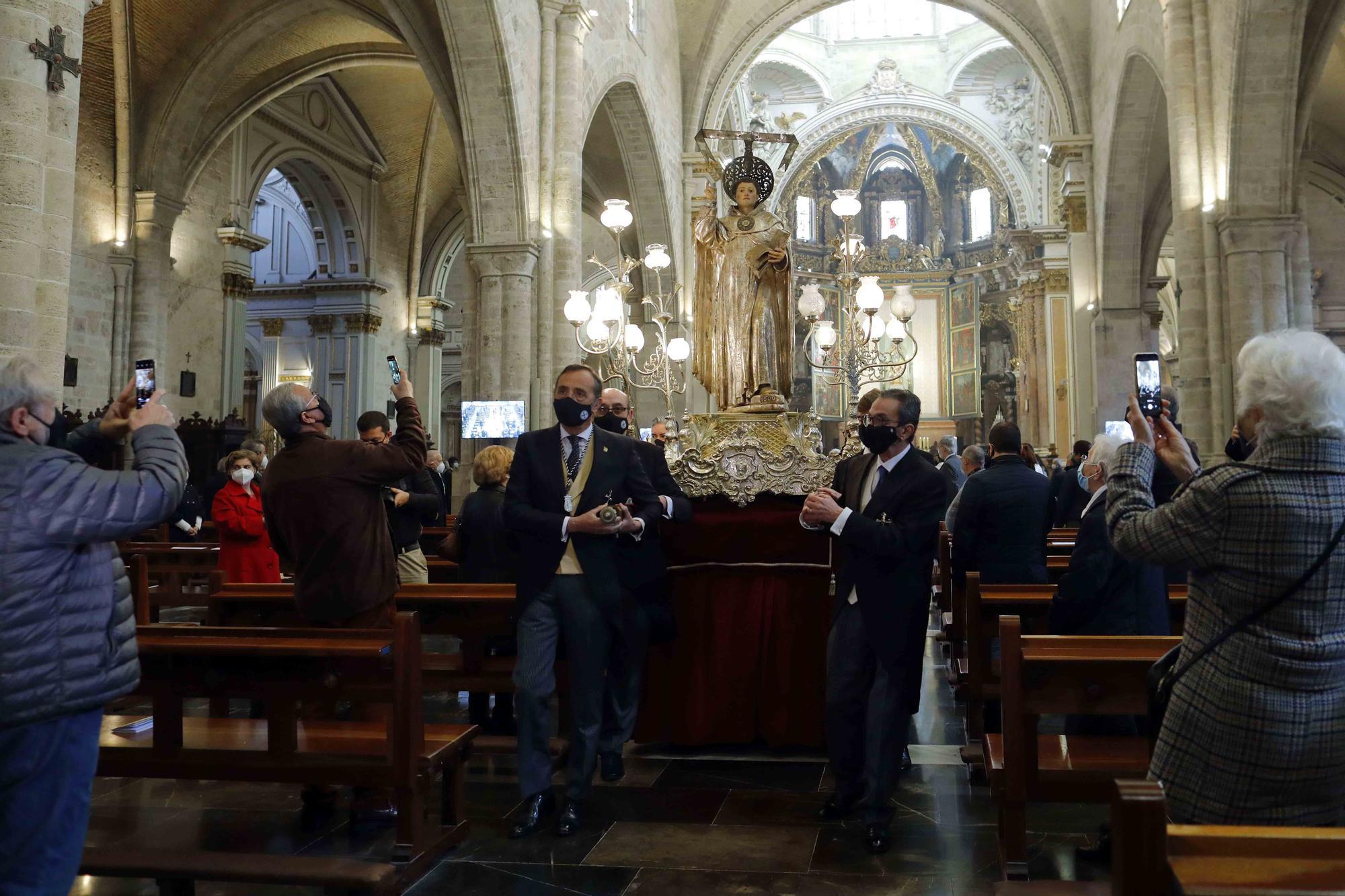 Misa y Procesión Claustral de San Vicente Ferrer en la Catedral