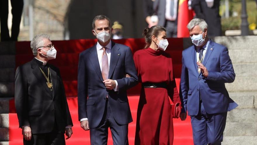 Felip VI i Letizia fan la primera visita oficial d'un monarca espanyol a Andorra en 700 anys