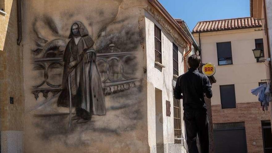 40 grafitis sobre las tradiciones y costumbres zamoranas adornarán fachadas de la capital