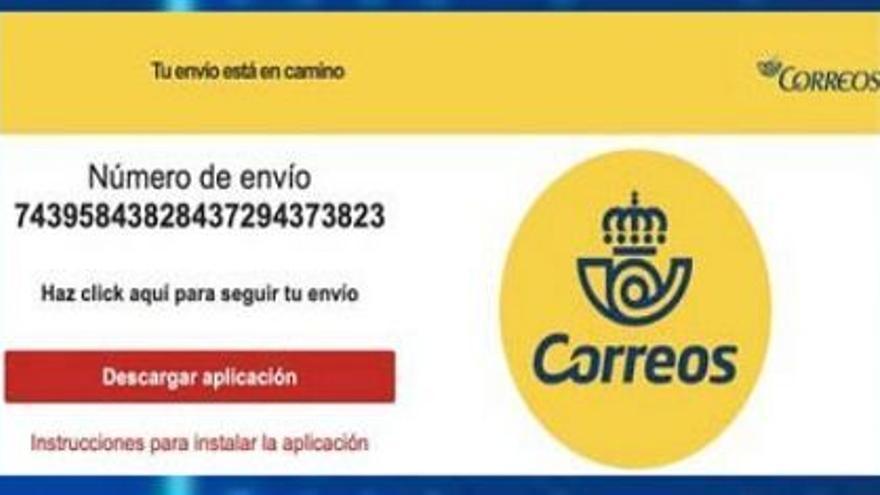 Alertan de un fraude a través de empresas de paquetería como Correos