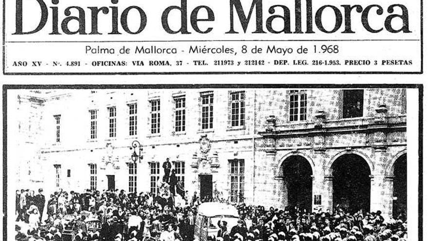 Der Geist von Paris kam mit Verspätung nach Mallorca