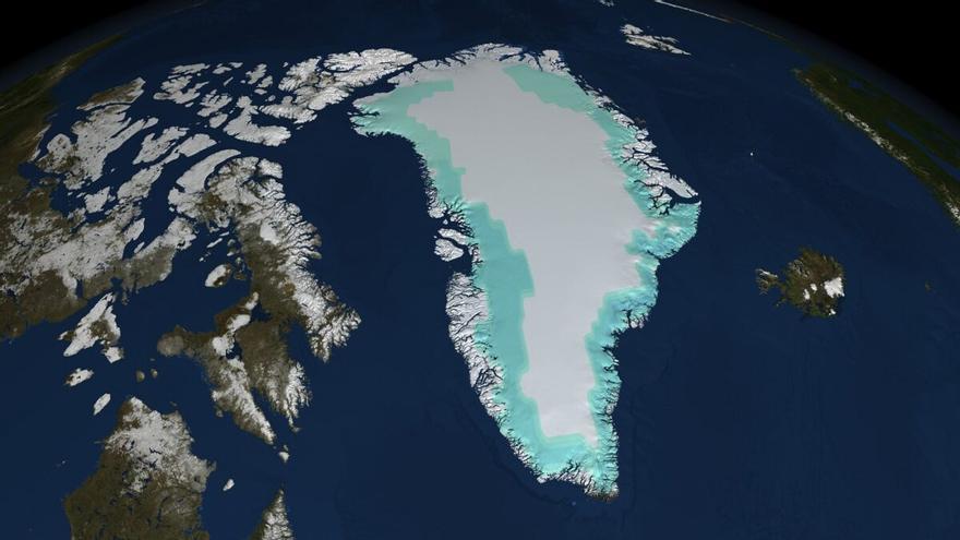 Una ola de calor causa un 'evento de derretimiento masivo' en Groenlandia