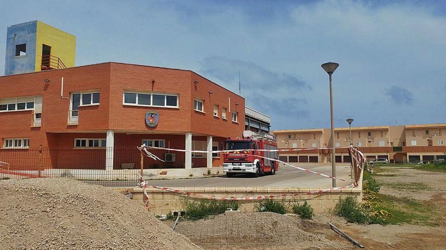 El Parque de Bomberos de La Manga reabre mañana tras mejorar sus instalaciones