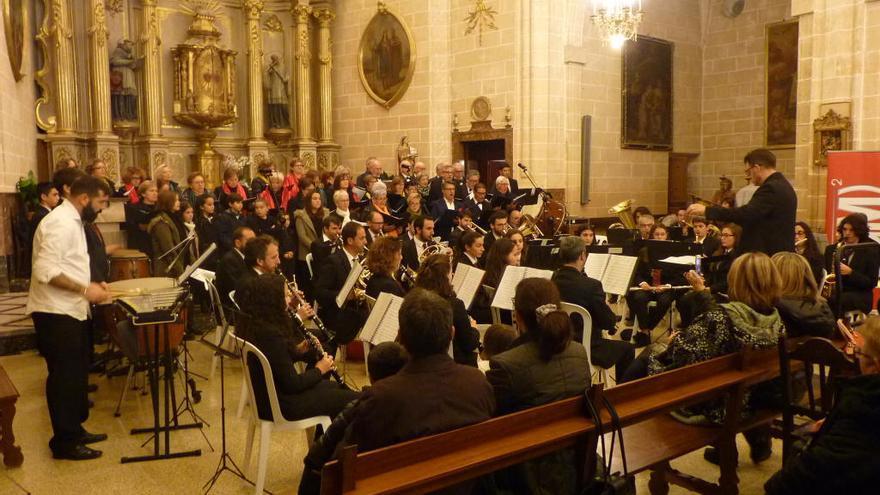 Las entidades musicales de Montuïri celebran Santa Cecilia