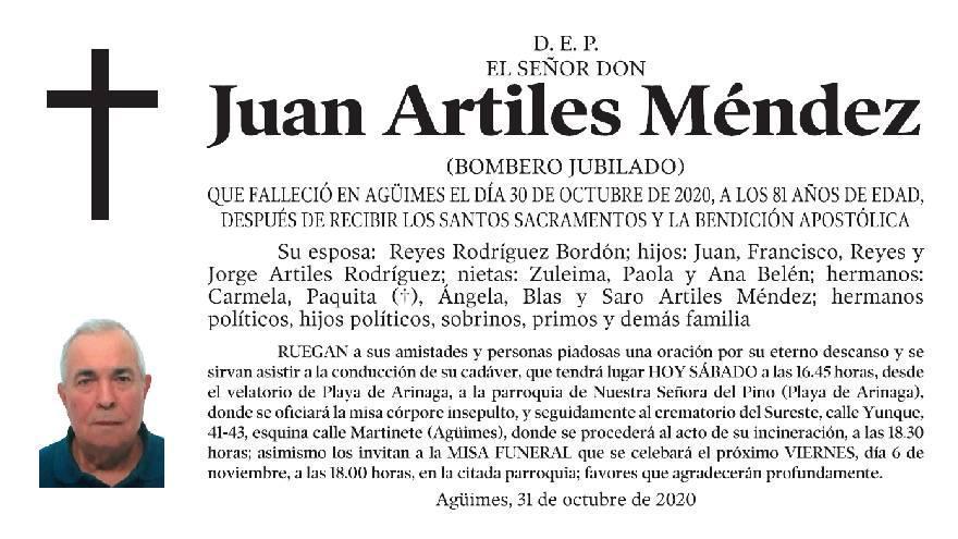 Juan Artiles Méndez