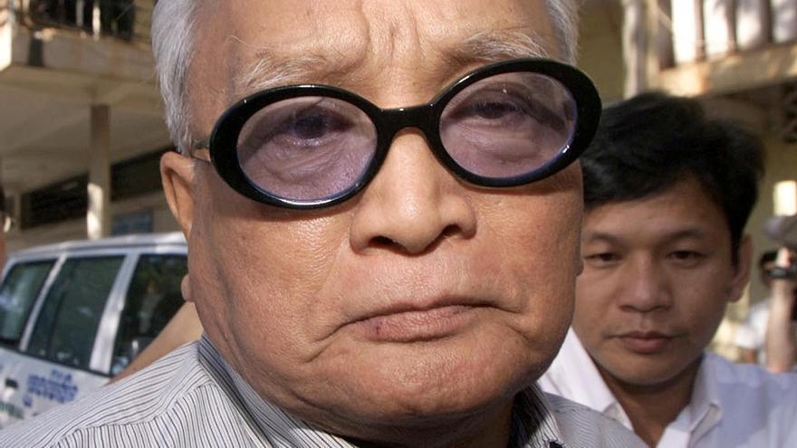 Muere Nuon Chea, 'número 2' del Jemer Rojo camboyano