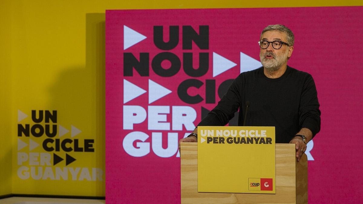 El número dos de la CUP en las elecciones catalanas, Carles Riera