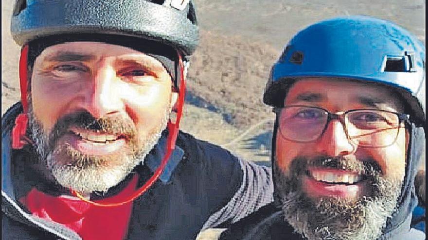 Dos vecinos de Granadilla, los escaladores fallecidos en el Parque Nacional del Teide