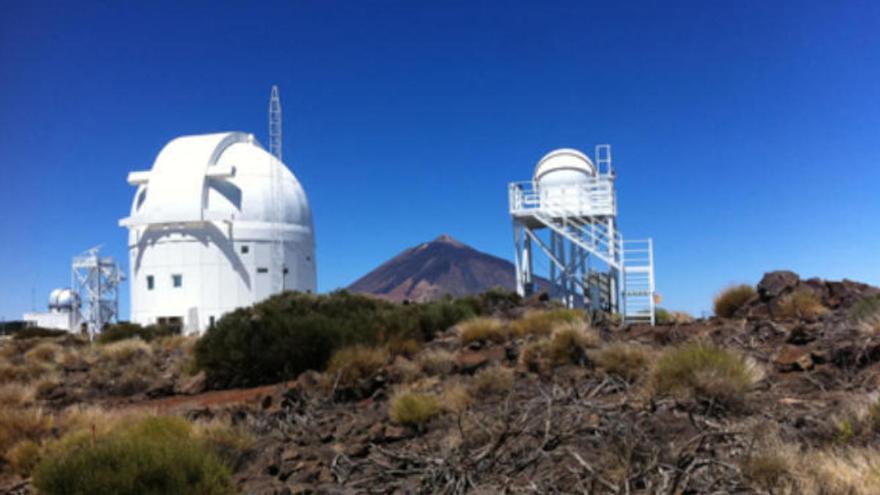 El IAC pide reubicar los telescopios Cherenkov para no interferir con Aemet