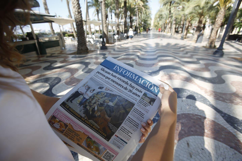 La nueva edición de INFORMACIÓN llega a todos los barrios y partidas de Alicante
