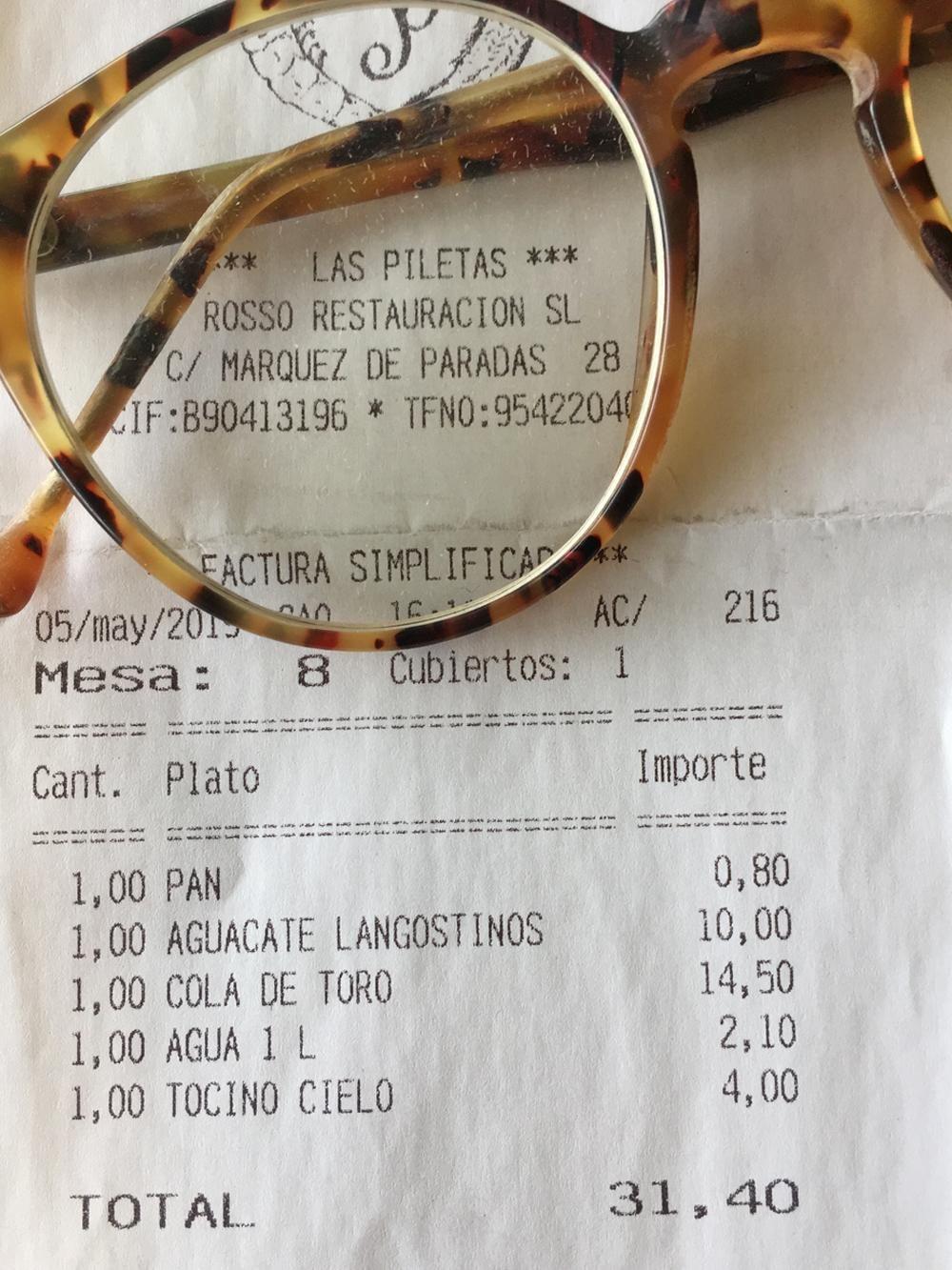 Restaurante Las Piletas en Sevilla