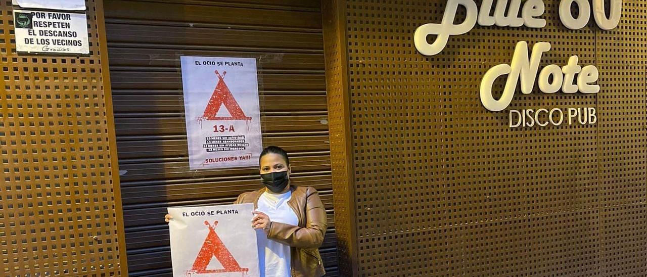 La protesta del ocio nocturno de Castellón