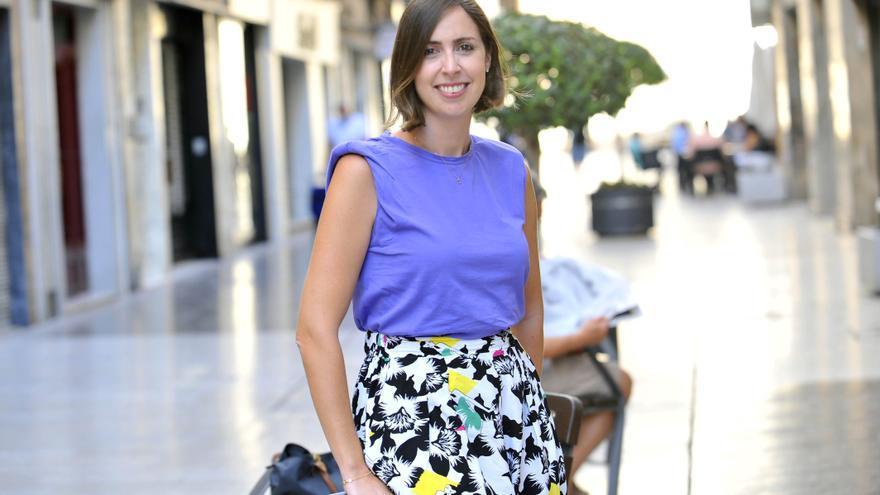 Esther Díez: «Tenemos una relación de tú a tú con el PSOE»