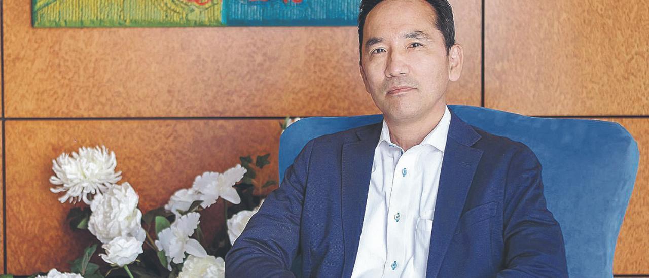 Akira Kusunoki, cónsul de Japón en Canarias.
