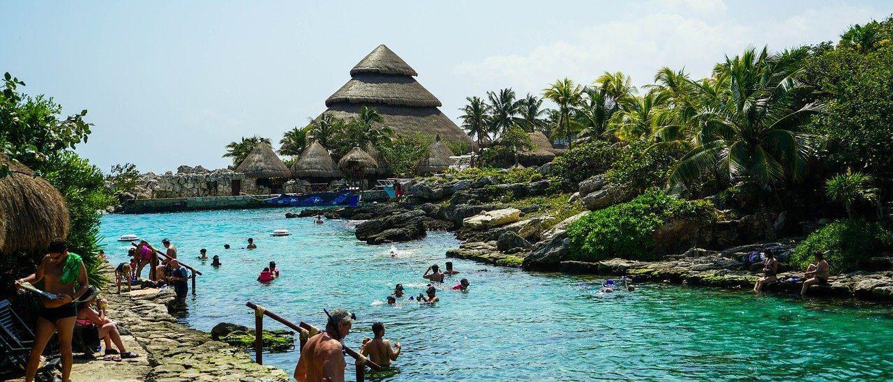 Una imagen de la Riviera Maya