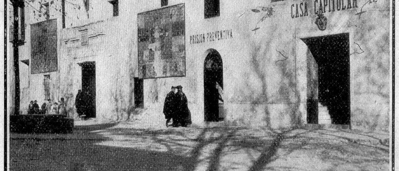 Antic ajuntament-presó a principos dels anys XX