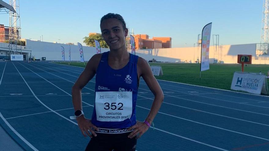 Teresa Herráez al Campeonato de España Absoluto