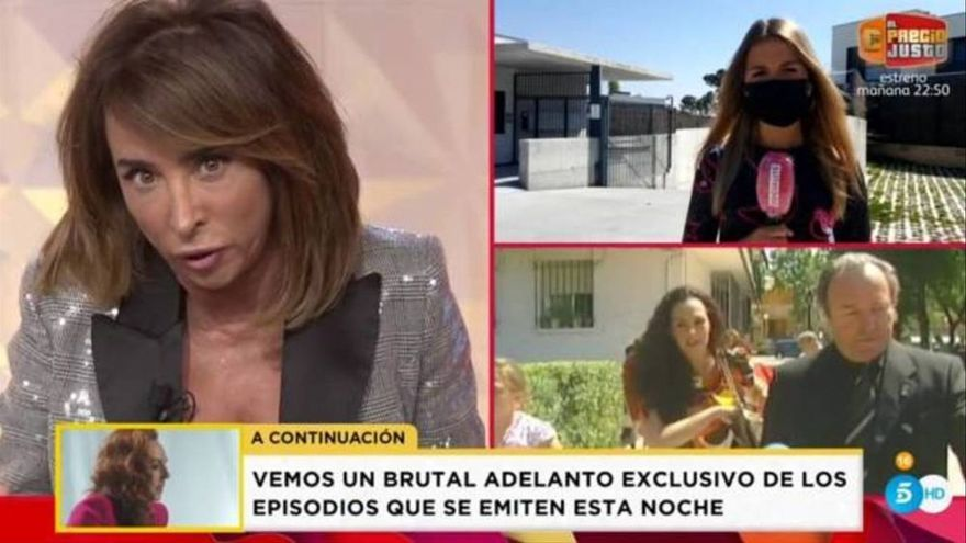 """María Patiño advierte a Rocío Flores sobre Antonio David: """"Tenía intención de hacer daño a tu madre"""""""