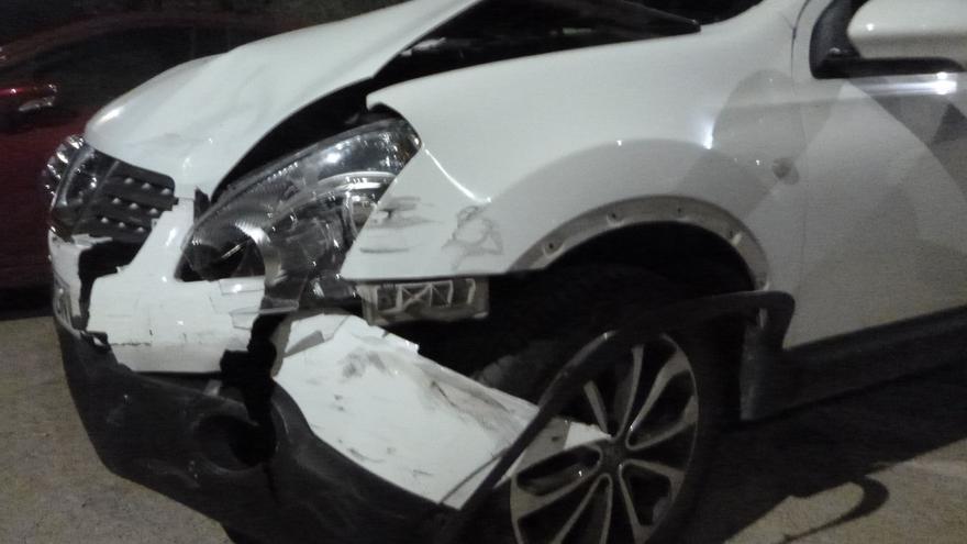 Un conductor begut fuig d'un accident a Castelló d'Empúries i acaba denunciat penalment