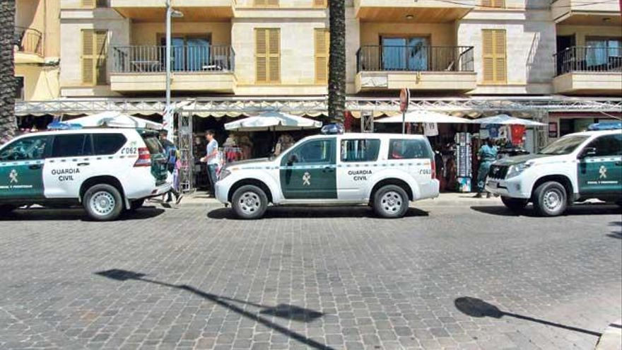 Entführung in Artà endet mit ausgebranntem Auto