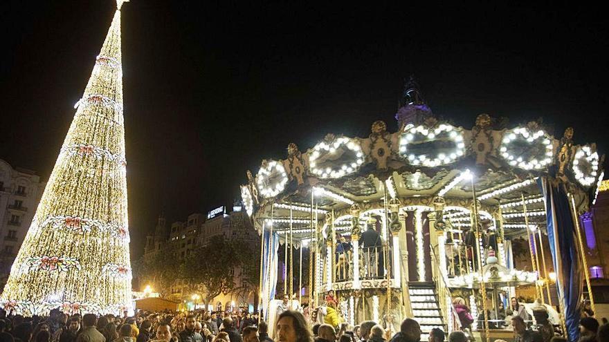 Los comercios del centro trabajan en unas navidades sin aglomeraciones