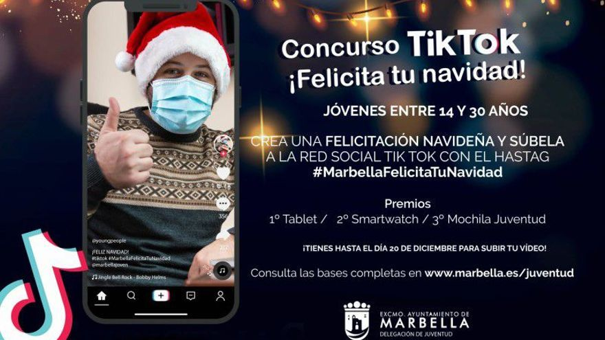 Concurso tik tok: Felicita tu navidad