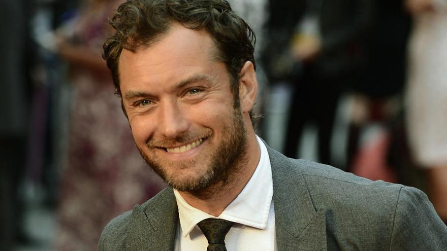 El actor británico Jude Law será padre por sexta vez
