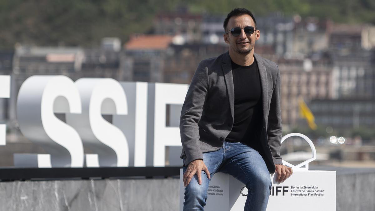 Alejandro Amenábar, tras la presentación de 'La Fortuna' en San Sebastián.