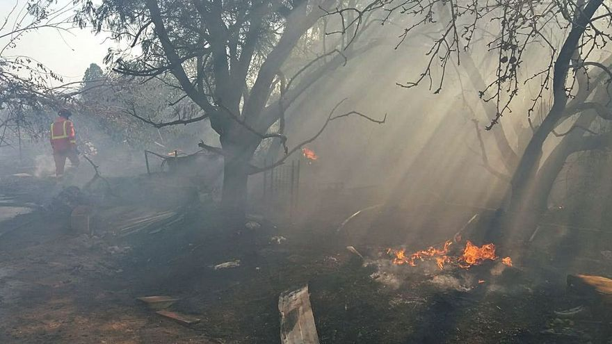 Tres conatos de incendios  en el entorno del Parc Natural de l'Albufera