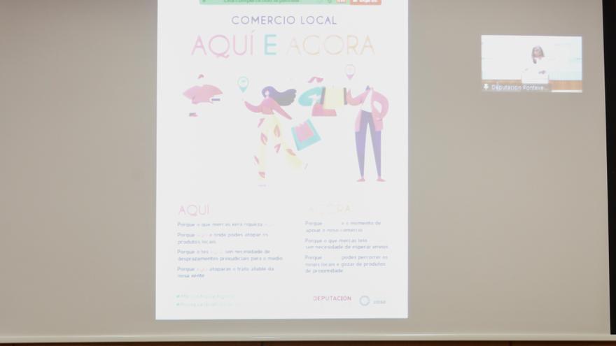 """""""Aquí e agora"""", la nueva campaña de la Diputación para apoyar al comercio local"""