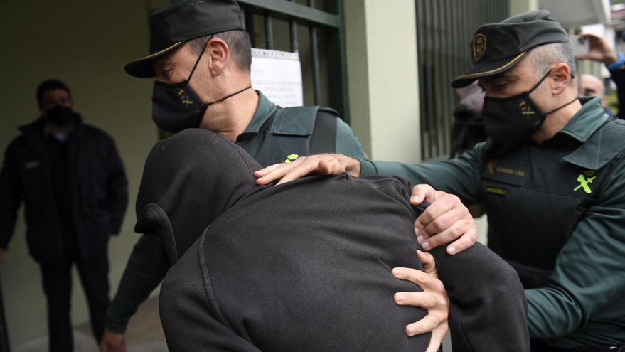 El detenido como autor del presunto asesinato de una mujer en Asturias pasa a disposición judicial
