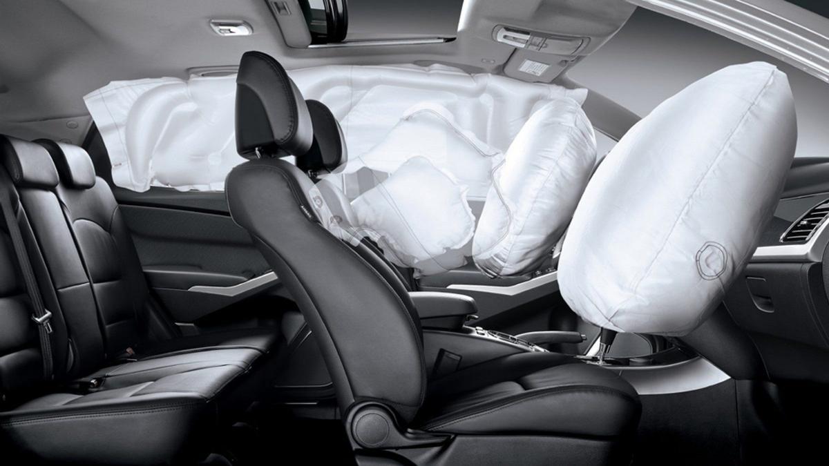¿Qué tipos de airbags existen en un coche?
