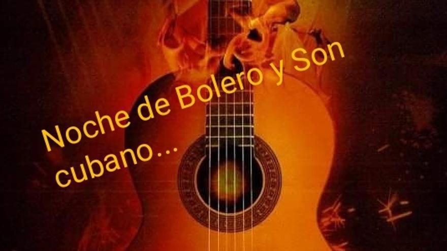 Cartel Noches de bolero y son cubano