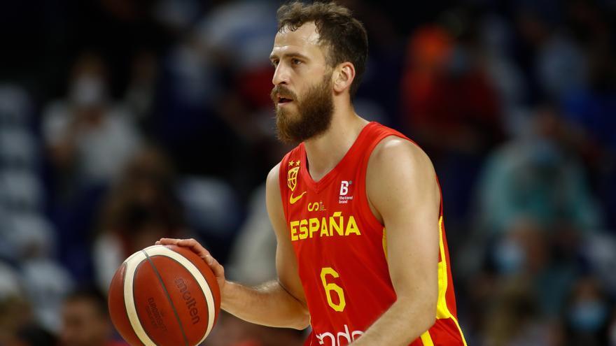 Sergio Rodríguez se retira de la selección de baloncesto