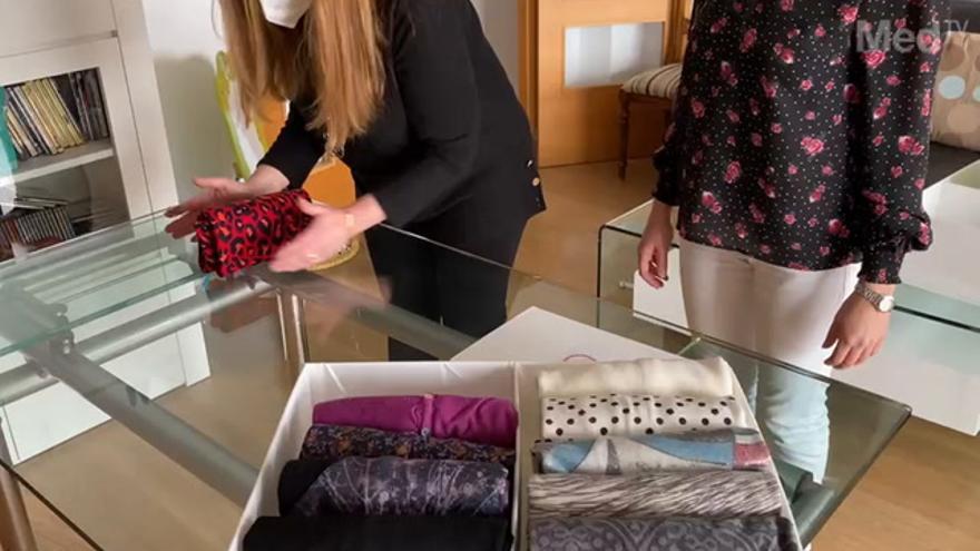"""Julia y Vanessa, las 'Marie Kondo' de Castellón: """"Podemos estar diez horas organizando un armario"""""""