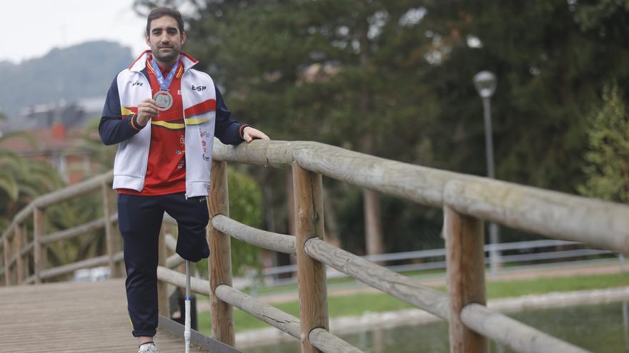"""Adrián Castro, capitán de la Selección Española de Fútbol para Amputados: """"Necesitamos más visibilidad"""""""
