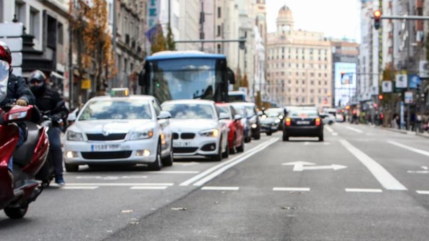 Madrid Central reduce un 33% el tráfico de la Gran Vía