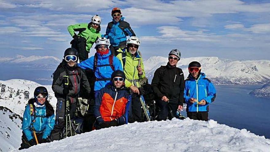 Zamora, en lo más alto de las cumbres de Lyingen