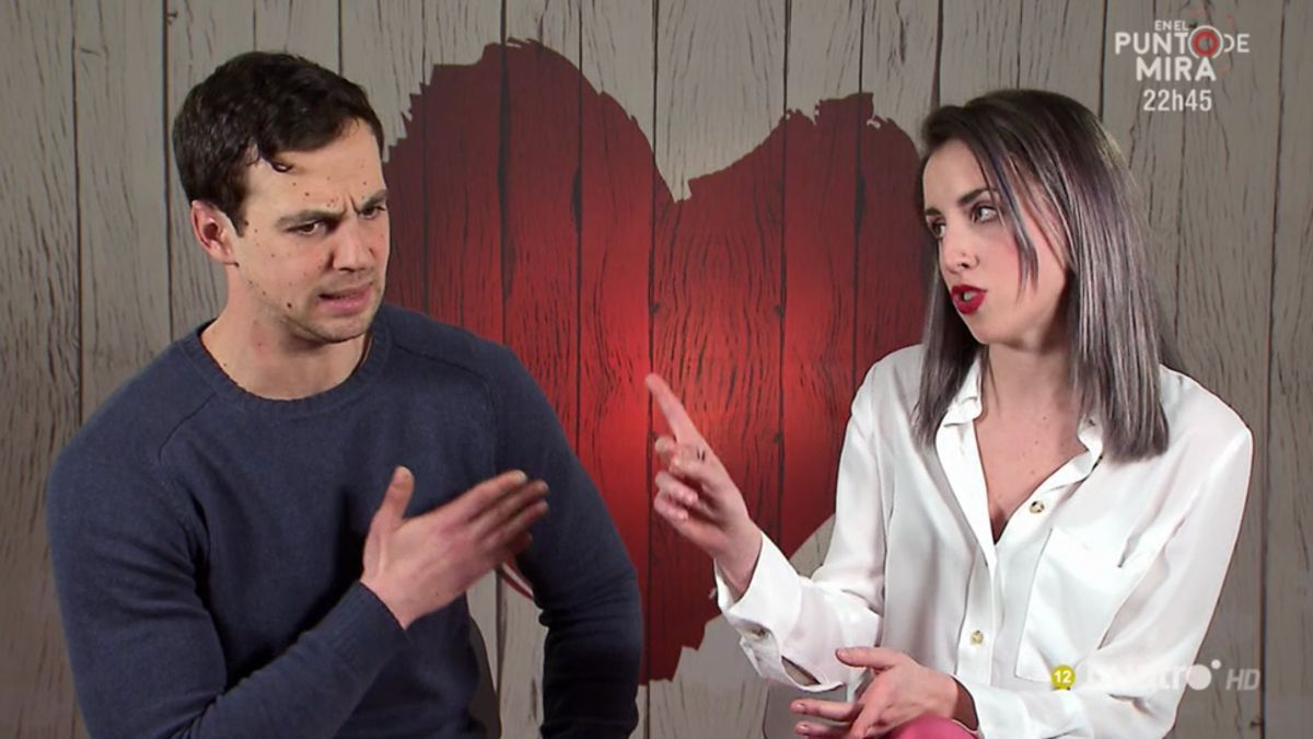 Alberto y Patricia en 'First Dates'.