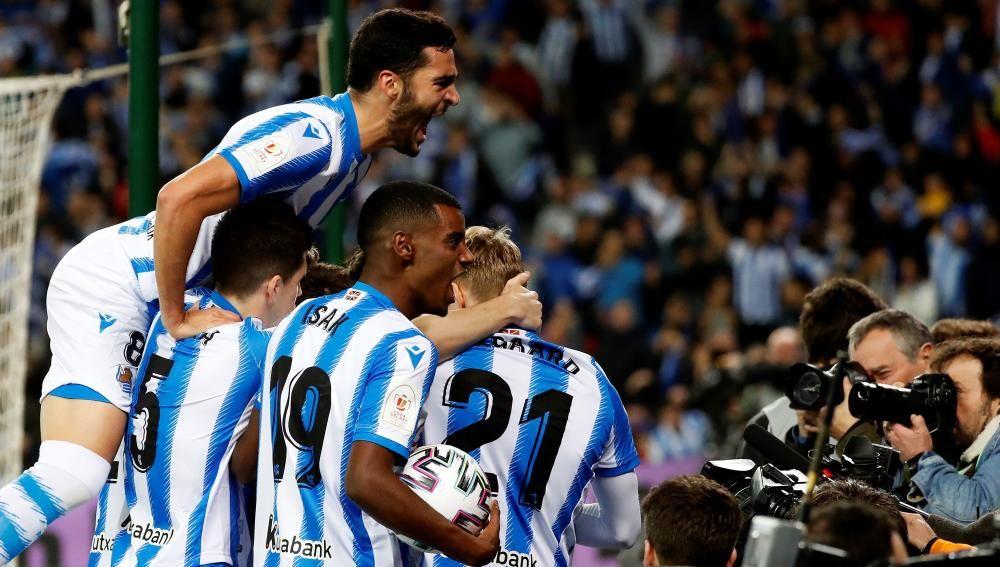 Semifinales de la Copa del Rey: Real Sociedad - Mi