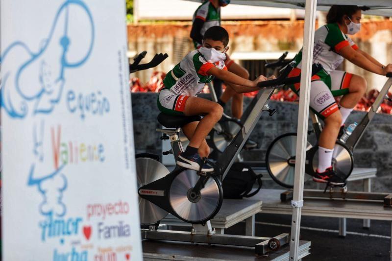Tercer Tour de la Ilusión (ciclismo a beneficio de Pequeño Valiente)