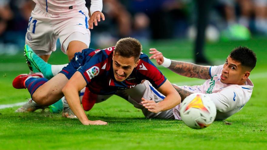 Levante y Getafe siguen sin ganar (0-0)
