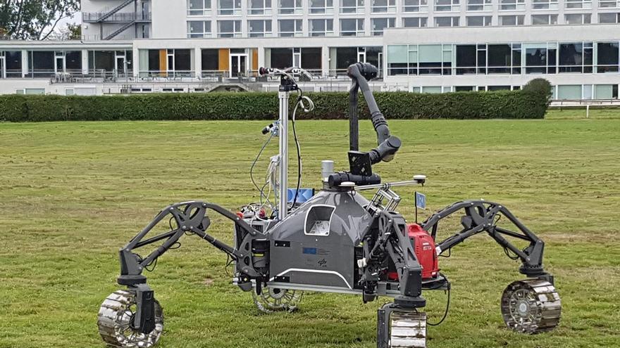Málaga participa en un proyecto europeo de equipos robóticos para explorar cuevas en la luna